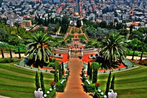Shrine of the Báb in Haifa-Israel